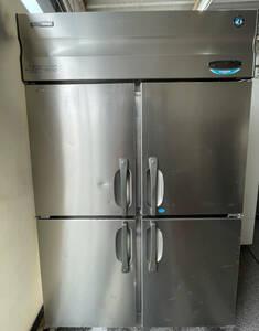 【動作確認済】HOSHIZAKI ホシザキ 業務用冷凍冷蔵庫 4ドア HRF-120X形 W1210mm×D800mm×H1880mm 2009年製 100V 50/60Hz 厨房機器 中古