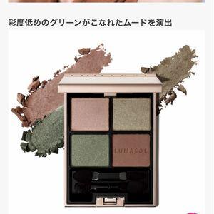 ルナソル アイカラーレーション 10 ビンテージモス 田中みな実雑誌使用色