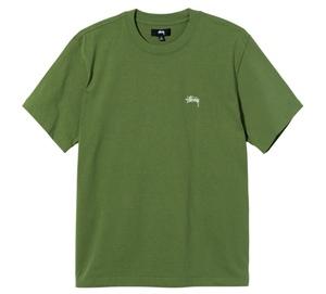 ★送料無料★定価以下★ Lサイズ 21SS Stussy OVERDYED SS CREW Green 緑 グリーン ステューシー Tシャツ Tee