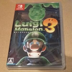 新品未開封◆ルイージマンション 3 Nintendo Switch ニンテンドースイッチ