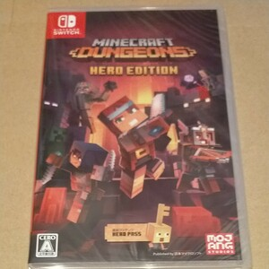 未開封新品◆Minecraft Dungeons Hero Edition マインクラフト Nintendo Switch
