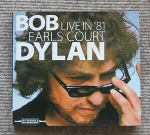 Bob Dylan ★ LIVE in EARLS COURT 1981 (2CD) ★ raz. records ★オフィシャル収録と1日違いのアールズコート