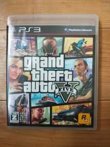 PS3 グランドセフトオート5 グランド・セフト・オートV GTA5