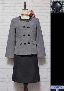 ★三菱自動車販売 女子制服(ジャケット+スカート+スカーフ) サイズ11号