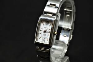 ゜・*:.。.☆【動作確認済・1円スタート】CITIZEN(シチズン) 腕時計 wicca B023-S039240 レディース Eco Drive☆.。.:*・゜