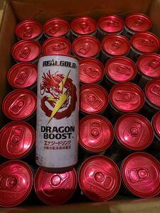 リアルゴールド ドラゴンブースト 250M缶(1ケース) 250ml 30本 送料無料 ギフト コカコーラ エナジードリンク