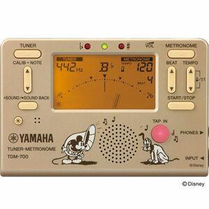 送料無料 YAMAHA メトロノームチューナー ミッキー 2019年限定 TDM-700DMK ディズニーコラボ