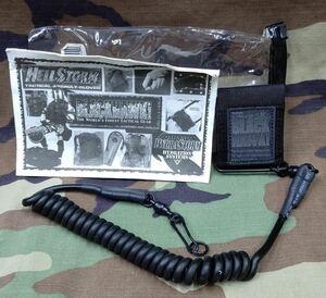 米軍 アメリカ軍 放出品 実物 払い下げ ブラックホーク製 ピストルランヤード ライフル 銃 エアガン