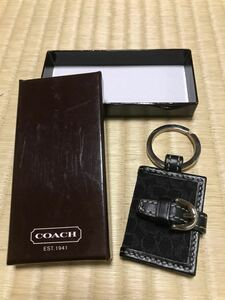 COACH/コーチ 写真入れキーホルダー