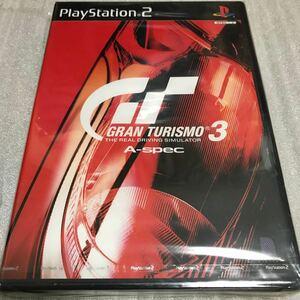 新品未開封 グランツーリスモ3 A-spec PS2