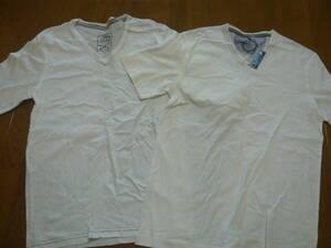 未使用あり ikka イッカ 半袖・七分 Tシャツ 2枚セット SizeL