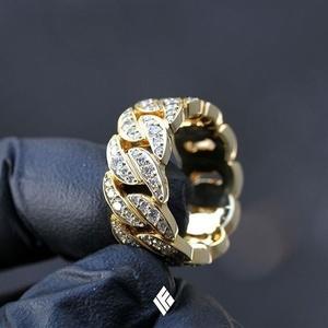 產品詳細資料,日本Yahoo代標 日本代購 日本批發-ibuy99 ☆1円~ 新品 18kイエローゴールドGP ダイヤモンドcz 喜平リング指輪 選べるサイズ 約6グ…