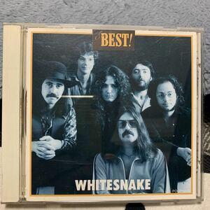 CD ホワイトスネイク /THE BEST!