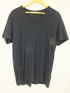 [12B-39-007-1] TATRAS タトラス 半袖 Tシャツ [5] ネイビー Vネック