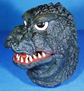 【即納】キャラクターマスク ゴジラ ラバーマスク ハロウィン 仮装 被り物 怪獣 GODZILLA 天然ラテックス フリーサイズ オガワスタジオ