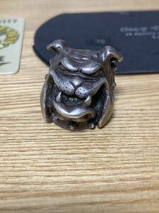 crazy pig ブルドッグ リング 約22号 クレイジーピッグ 定価約70,000円
