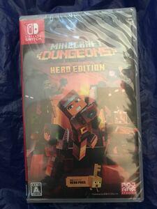 新品未開封 Minecraft Dungeons Hero Edition マインクラフト ダンジョンズ ヒーローエディション