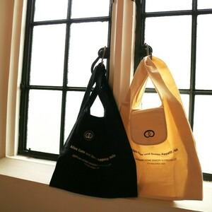 フロインドリーブ オリジナルマイバッグ(ブラック) エコバッグ トートバッグ ショッピングバッグ