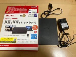 BUFFALO バッファロー 外付けハードディスクHDD 4TB ジャンク品
