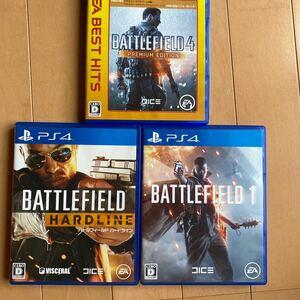 PS4 人気 ソフト 3本セット バトルフィールド
