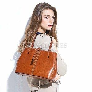 新品本革バッグトートバッグレディースハンドバッグショルダーバッグ牛革レザー通勤通学旅行大容量春おしゃれ