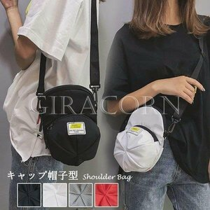新品ミニショルダーバッグ レディース お財布 ポシェット 帽子型 小さめ ミニバッグ 軽量