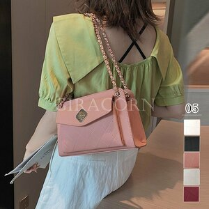 新品チェーンバッグ ミニバッグ ショルダーバッグ レディース 斜めがけ 大人可愛い バッグ 小さめ レザーバッグ おしゃれ