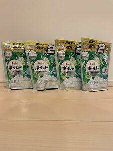 ボールド レノア ジェルボール デトックス グリーンガーデン ミュゲ 30粒×4個