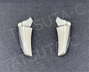新品即納!日野 新型 17 レンジャー メッキ マッドガード カバー 左右セット 被せタイプ デコトラ 00731