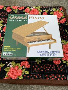 KAWAI カワイ グランドピアノ 美品 KAWAI Grand Piano 32鍵盤 1102 おもちゃ 日本製 対象年齢3才~ 元箱付き ミニピアノ 現状売り切り
