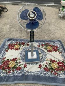 MITSUBISHI 三菱 3枚羽 大型レトロ扇風機 R35-N8 大型扇風機 昭和レトロ 当時物 アンティーク 扇風機 三菱扇風機 100V 現状売り切り