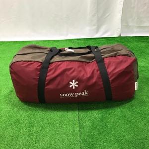 【中古】snow speak スノーピーク リビングシェル TP-623R キャンプ アウトドア テント ファミリー 4人用 シェルター