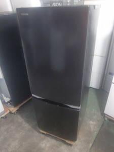 ★◇2ドア冷凍冷蔵庫 153L 東芝 GR-R15BS-K 2019年製 黒 良品 中古 小型 家電 一人暮らし用 お部屋まで搬入 送料無料 即決 7066