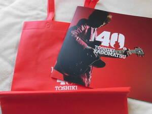 角松敏生 40周年ツアーパンフレット 2021年 付属トートバッグ付き