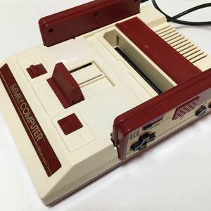 ファミリーコンピュータ 本体 動作未確認 ジャンク 美品 任天堂 ファミコン レトロ ゲーム