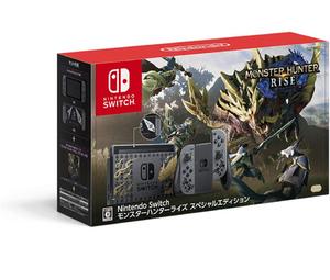 【中古】任天堂 Nintendo Switch モンスターハンターライズ スペシャルエディション HAD-S-KGAGL 未使用
