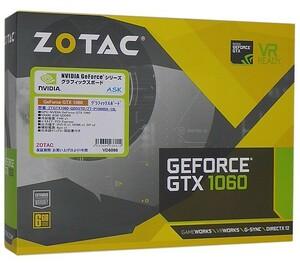 【中古】ZOTAC GeForce GTX 1060 6GB Single Fan ZT-P10600A-10L 元箱あり