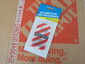 Automotive air Freshener★自動車用芳香剤 エアフレッシュナー NOTICE モーニングフレッシュ