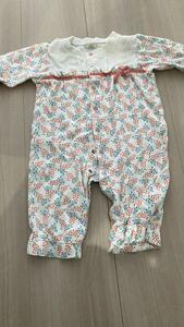 ベビーロンパース カバーオール 子供服 ベビー服 70 80 新生児