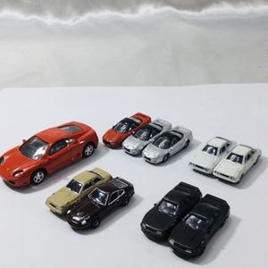 【T/現状品】ダイドー DyDo NAVI ミニチュア カーコレクション 9台 & フェラーリ ミニカー 10台おまとめ MZ0928