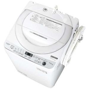 ★シャープ ES-GE7E-W 全自動洗濯機 7kg★新品・安心のメーカー保証付き★