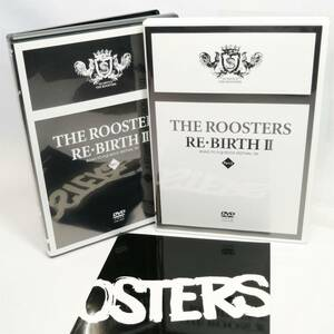 THE ROOSTERS ルースターズ THE ROOSTERS RE・BIRTH Ⅱ DVD PART1 PART2 冊子 北E2