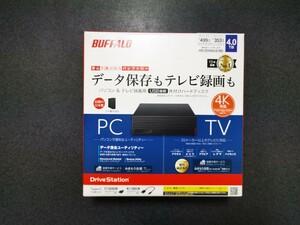 2021年発売 外付けハードディスク【未使用】HD-EDS4U3-BD バッファロー BUFFALO