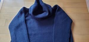 【ロングセーター】黒