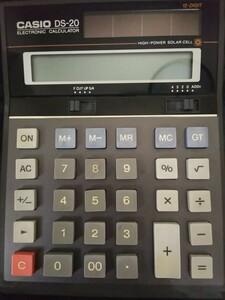 カシオ 電卓 DS-20 (ソーラー、12桁) CASIO 計算機 電卓 カシオ電卓