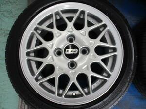 フォルクスワーゲン オプションBBS RA491 14x6J +45 PCD100 4H 165/55R14 ローダウン ゼスト ネイキッド ミラジーノ 軽自動車 流用セット