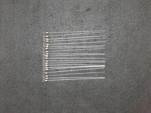 ☆☆シャフトスイベル20本 ロング 10cm チェリーリグ ヒラメシャフト ブレード加工 自作 ハンドメイド☆☆
