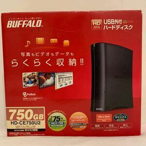 BUFFALO USB外付ハードディスク 新品未使用