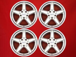 ALUTEC アルテック M 17インチ ホイール 4本 8J-17 PCD120 5穴 +10 ハブ76 BMW 5シリーズ E39 等へ aa17