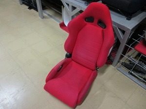 semi bucket seat right for driver`s seat bucket seat red red red S-98 wear 36